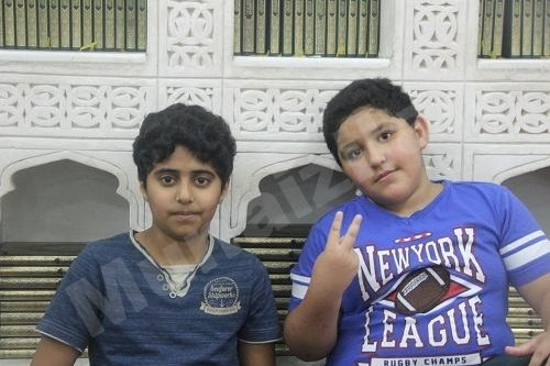الشهيد علي آل غزوي في مسجد الإمام علي عليه السلام