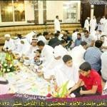 جامع الامام الجواد (ع)  يستقبل زكاة الفطرة