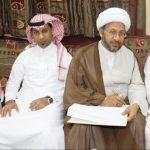 أحمد حسين يكتب عقد زواجه