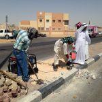 """الحاج """" أبوجاسم """" يوجه شكره لرجالات اللجنة الأهلية"""