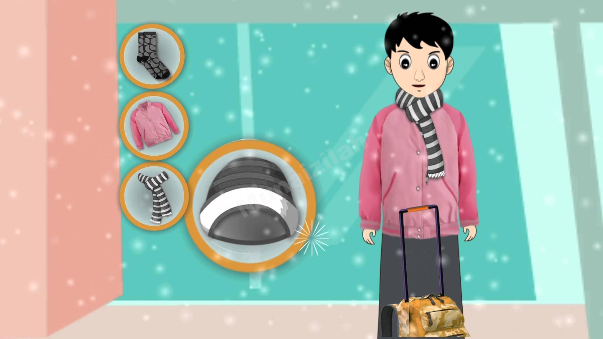 فيديو : كيف يتقي الطلاب برد الشتاء