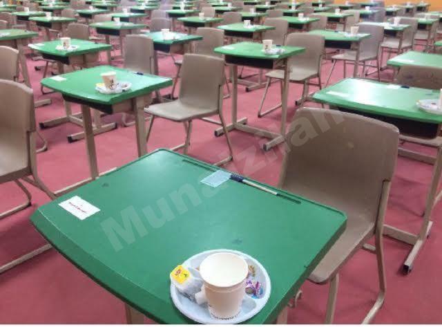 جدول اختبارات المتعثرين في المدرسة السعودية الثانوية بـ#المنيزلة