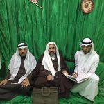 العيد تحتفل بعقد قِران ابنها حسن