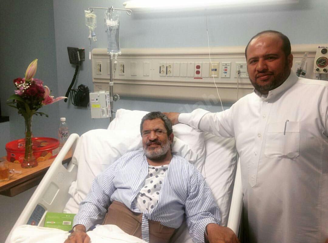 بعد إجراء العملية .. أبوعارف يخرج من المستشفى