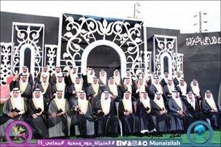 بالصور : المنيزلة تحتفل بزفاف 38 عريسًا في مهرجان 24