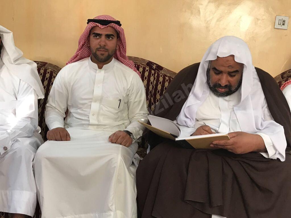 محمد البريه يعقد قرانه