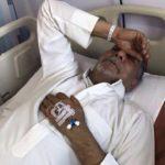 أبوحسين يدخل المستشفى