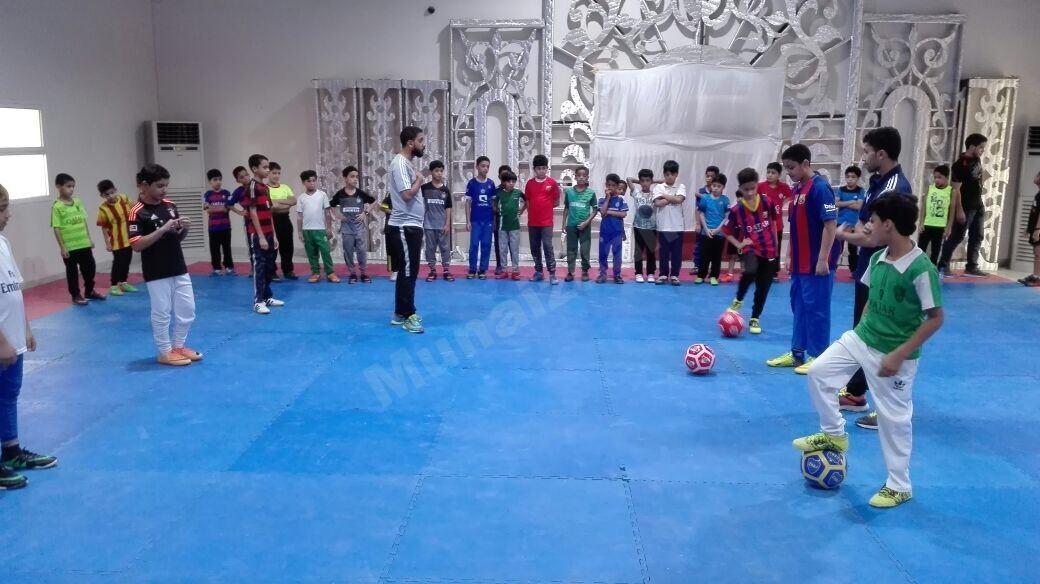 100 طفل حصيلة المشاركة في البرنامج الترفيهي