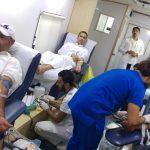 إقامة حملة التبرع بالدم الاستثنائية بمركز النشاط