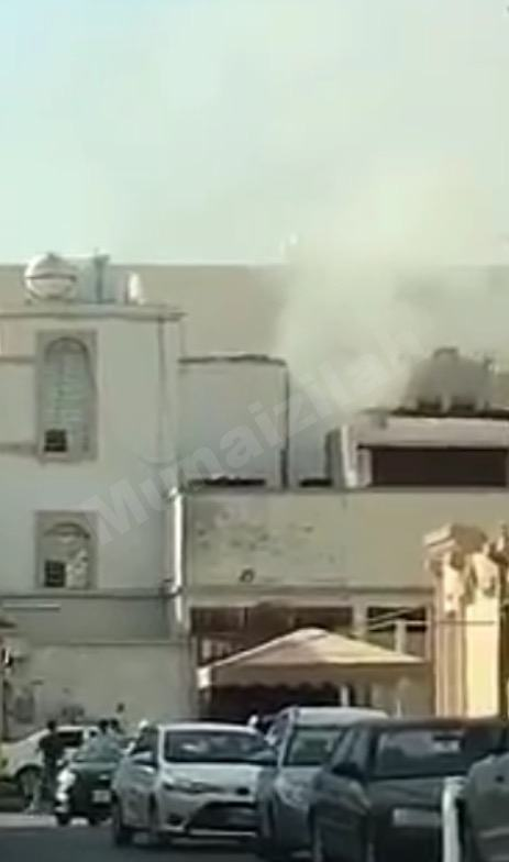 من جديد حريق في أحد منازل المنيزلة