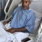 أبوأحمد يرقد في مستشفى بن جلوي