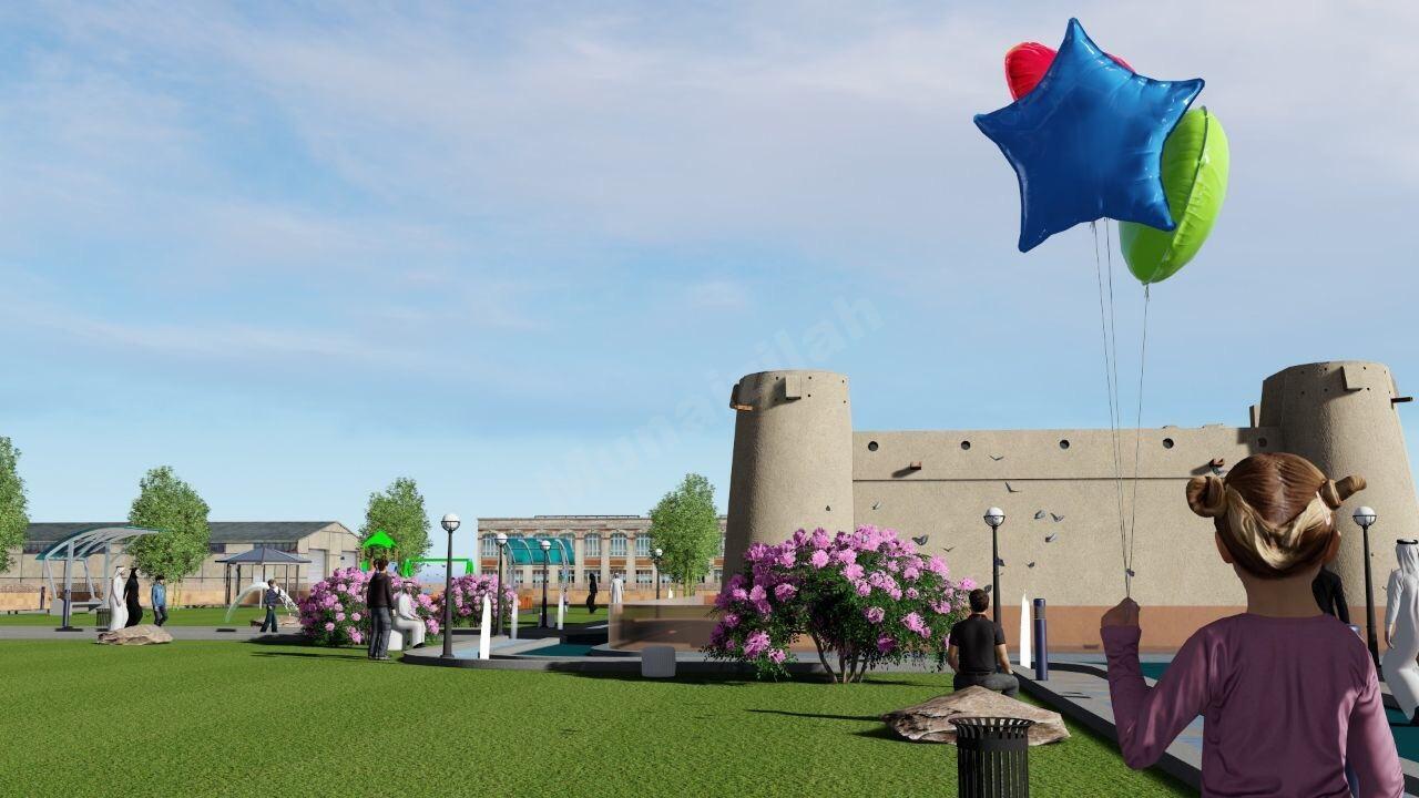 منيزلاوي يقترح تصميمًا لتحديث وتأهيل قصر الجبريين التراثي بالمنيزلة