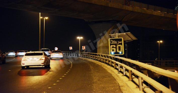 بعد زيادة الحوادث «النقل» تضع شاشات إلكترونية لتنبيه السائقين