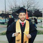 محمد الأحمد خريجاً من جامعة واتشيتا الأمريكية