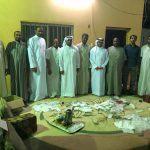 الصالح يوظف مهنته في خدمة مهرجان المصطفى للزواج الجماعي