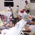 انطلاق حملة التبرع بالدم السابعة عشر ب 130 متبرع حتى الآن والعدد في ازدياد