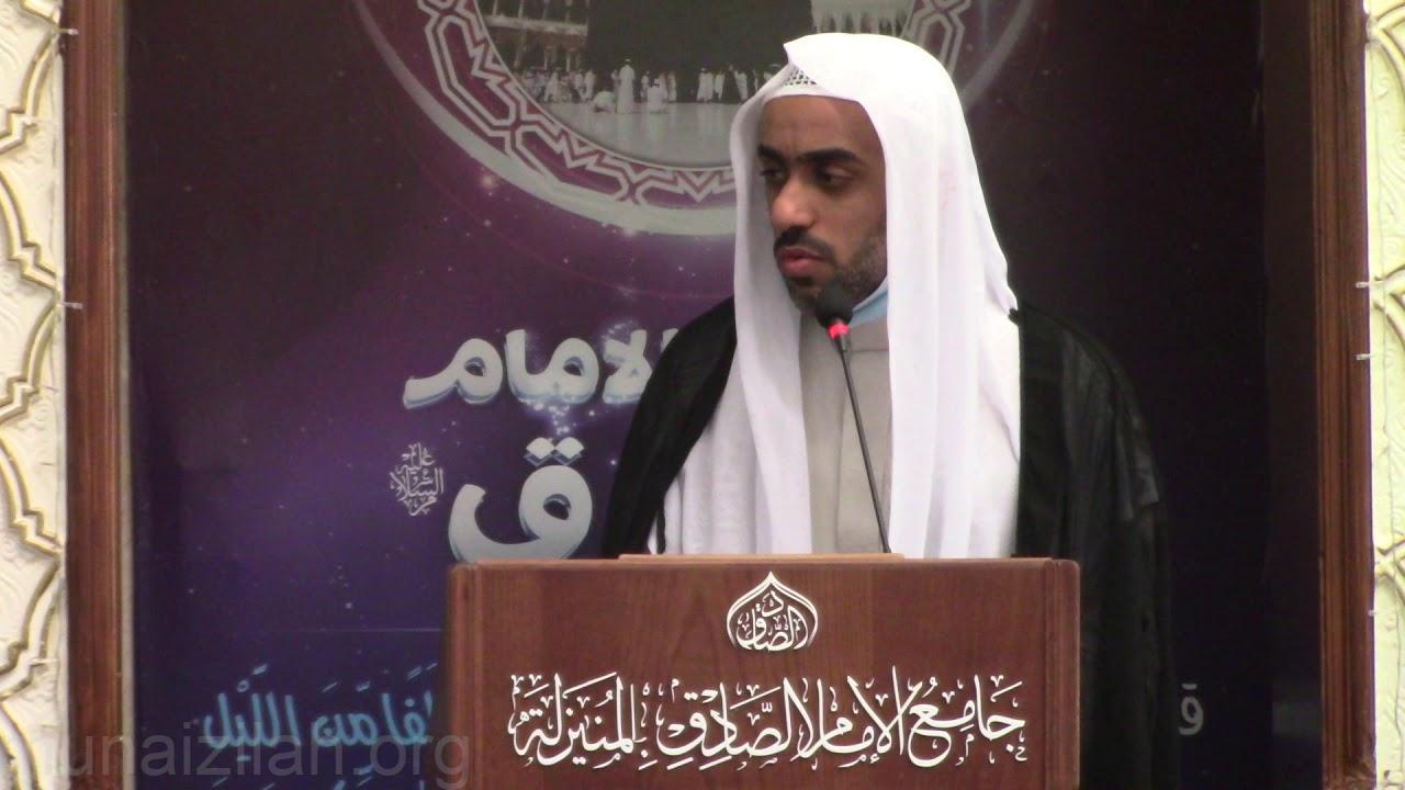 (المجاملة في الحق):كلمة الجمعة ١٤٤٢/٧/٢٠هـ لسماحة السيد مجتبى السلمان