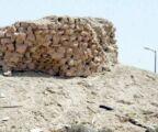 """إعادة تأهيل """"بقايا"""" قصر """"زامل بن أجود الجبري"""" الأثري في بلدة المنيزلة"""