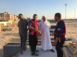 بالصور : وجهاء وأعيان وأعضاء المجلس الاشرافي في زيارة تفقدية لأرض المهرجان #جماعي_26