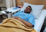أسامة يرقد بالمستشفى