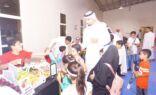 بالصور :مركز النشاط يقيم بزار للتاجر الصغير