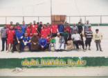 60 متطوعا تحت شعار ( نادينا بتكاتفنا نظيف )