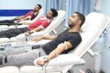 مجموعة ياسين الغدير راعياً لحملة التبرع بالدم الرابعة عشر بالمنيزلة