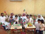 عائلة الراشد تحتفل لصعود الاتفاق مجددا لدوري جميل