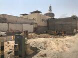 بدء إعادة بناء الجزء الغربي من الحسينية الحيدرية