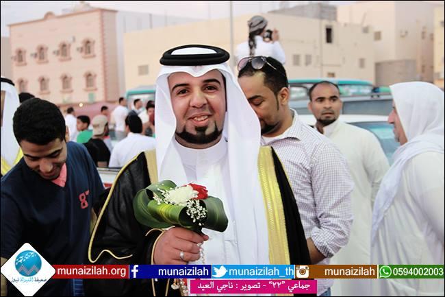 العبدالمحسن والعبدالله تدعوان الجميع لزفاف حسين وأحمد