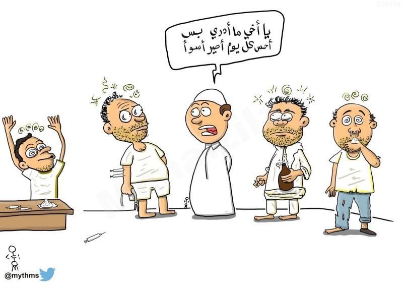 """كاريكاتير """" الصاحب ساحب """""""