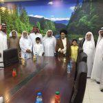 """سماحة الشيخ كاظم الحريب """"نحن نفخر بإبداعات شبابنا في المهرجان وندعو للمزيد"""""""