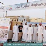 عمدة المنيزلة يداً بيد مشاركاً في ركن الفواكه بمهرجان الزواج الجماعي25