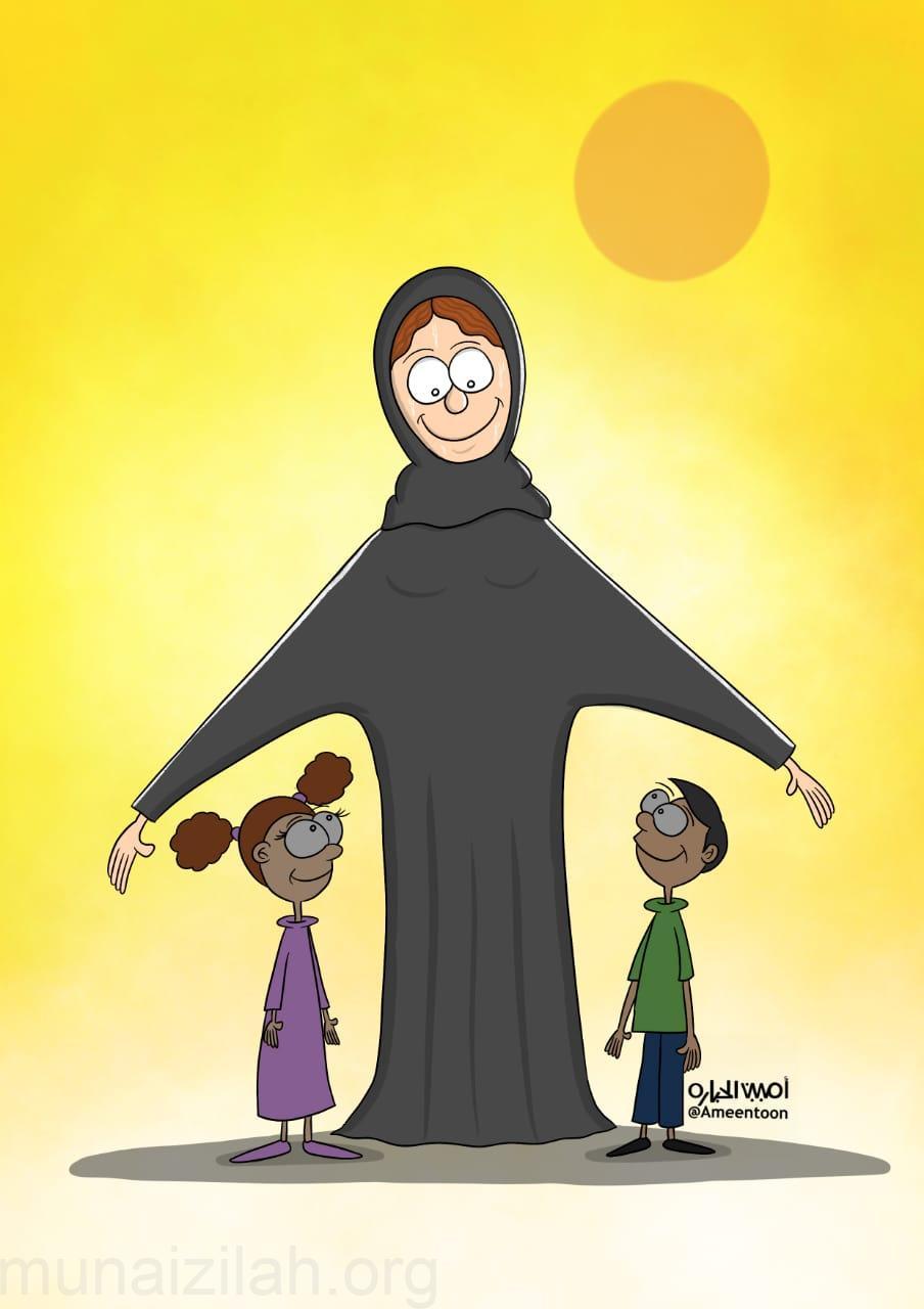 أمي ثم أمي ثم أمي