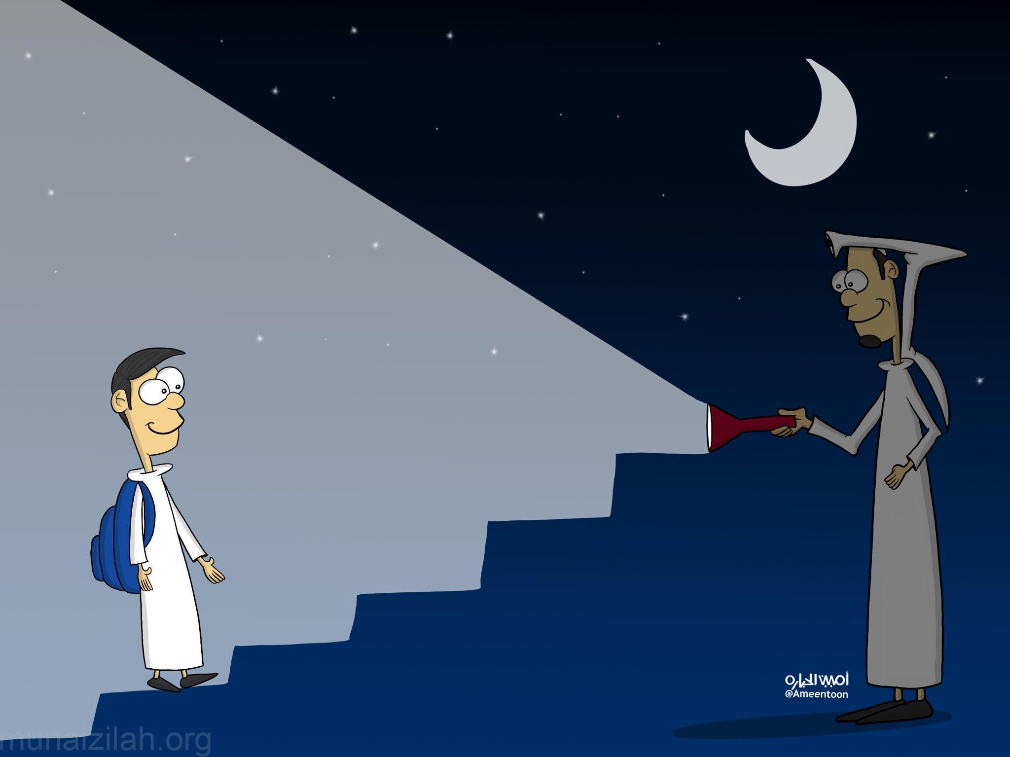 كاريكاتير #اليوم_العالمي_للمعلم