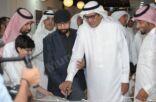 «المحمد» يشارك «الغوينم» في افتتاح المعرض الواقعي الأول لمجموعة (كلنا رسامون)