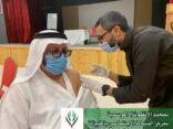 بالصور : حملة تطعيم للانفلونزا الموسمية بمركز نشاط المنيزلة