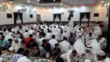 بمشاركة أكثر من 60 أسرة .. إقامة مائدة الإفطار بمضيف الإمام الحسين