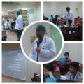 """بمشاركة 62 طالبا  """"المعتصم بالله بالمنيزلة"""" تقيم محاضرة صحة الأسنان"""