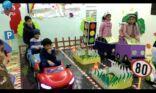 نشاط التوعيه المرورية لأطفال مركز نون والقلم