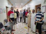 تهيئة مرافق المنيزلة (المرحلة الأولى) بمشاركة فريق علو التطوعي