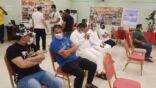 ختام حملة التبرع بالدم (22) بالمنيزلة والحصيلة 268 وحدة دم