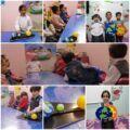أطفال مركز نون والقلم بمدينة المنيزلة يحلقون في الفضاء