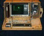 حاسوب محمول في صندوق خشبي !!