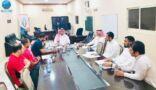 إدارة مركز النشاط والقسم الرياضي على طاولة رئيس لجنة التنمية بالجفر